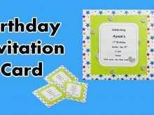 32 Free Printable Birthday Invitation Format In English PSD File for Birthday Invitation Format In English