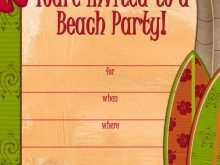 33 Visiting Beach Party Invitation Template Now with Beach Party Invitation Template