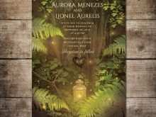 34 Adding Enchanted Forest Wedding Invitation Template For Free for Enchanted Forest Wedding Invitation Template