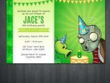 34 Best Free Zombie Birthday Party Invitation Template Formating by Free Zombie Birthday Party Invitation Template