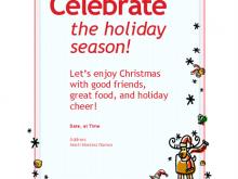35 Best Christmas Dinner Invitation Examples Templates for Christmas Dinner Invitation Examples