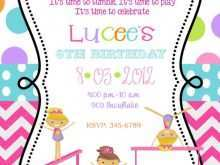 35 Visiting Birthday Invitation Templates Gymnastics Now for Birthday Invitation Templates Gymnastics