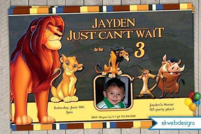 36 how to create lion king birthday