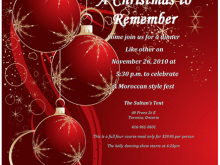 37 Free Christmas Party Invitation Template Online Templates with Christmas Party Invitation Template Online