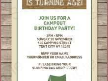 Birthday Party Invitation Templates Editable