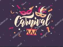 39 Customize Carnival Invitation Template Vector Download with Carnival Invitation Template Vector