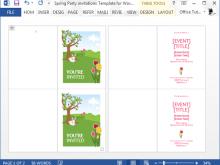 39 Format Birthday Invitation Template Office Templates by Birthday Invitation Template Office