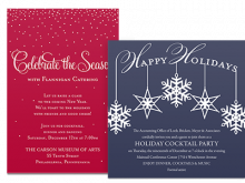 Christmas Dinner Invitation Examples