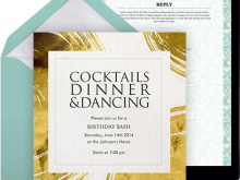 40 How To Create Example Of Dinner Invitation Download by Example Of Dinner Invitation