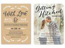 Wedding Invitation Name Format