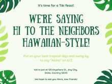 42 Blank Hawaiian Party Invitation Template With Stunning Design for Hawaiian Party Invitation Template