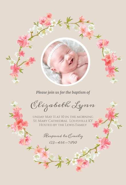 42 Creating Christening Invitation Blank Template Pink Layouts by Christening Invitation Blank Template Pink