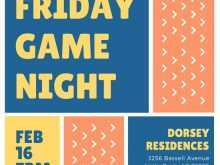 42 Format Blank Game Night Invitation Template Templates with Blank Game Night Invitation Template