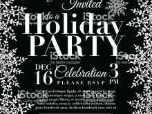 42 How To Create Christmas Party Invitation Template Black And White Maker with Christmas Party Invitation Template Black And White