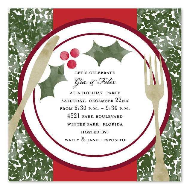 42 Online Christmas Dinner Invitation Examples in Word for Christmas Dinner Invitation Examples