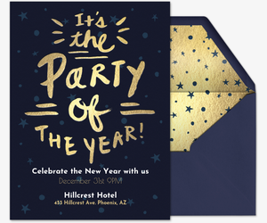 43 Adding New Year Party Invitation Template in Photoshop for New Year Party Invitation Template