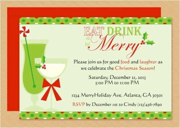43 Best Christmas Party Invitation Template Word PSD File for Christmas Party Invitation Template Word