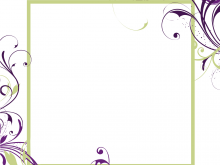 43 The Best Blank Template For Invitation Card in Word for Blank Template For Invitation Card