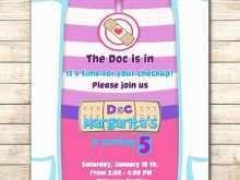 Doc Mcstuffins Birthday Invitation Template
