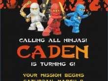 45 Visiting Ninja Party Invitation Template Free Now by Ninja Party Invitation Template Free