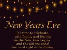 46 Adding New Year Party Invitation Template For Free for New Year Party Invitation Template