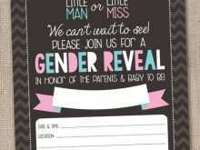 46 Creating Blank Gender Reveal Invitation Template Formating with Blank Gender Reveal Invitation Template