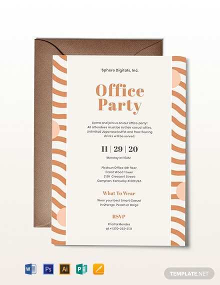 48 Creating Office Party Invitation Template Editable for Ms Word for Office Party Invitation Template Editable