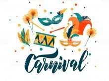 48 Customize Our Free Carnival Invitation Template Vector Formating for Carnival Invitation Template Vector