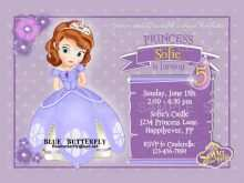 48 Free Sofia The First Invitation Blank Template Formating for Sofia The First Invitation Blank Template
