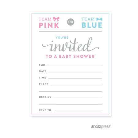 48 Online Blank Gender Reveal Invitation Template Layouts with Blank Gender Reveal Invitation Template