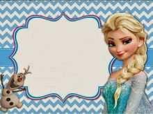 49 Blank Frozen Birthday Invitation Blank Template With Stunning Design by Frozen Birthday Invitation Blank Template
