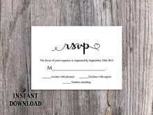 49 Blank Rsvp Wedding Invitation Template for Ms Word with Rsvp Wedding Invitation Template