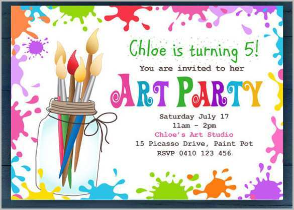49 Creative Children S Birthday Invitation Template Download by Children S Birthday Invitation Template