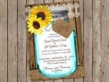 49 Customize Wedding Invitation Template Mason Jar Now with Wedding Invitation Template Mason Jar