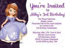 51 Customize Our Free Sofia The First Invitation Blank Template Now by Sofia The First Invitation Blank Template