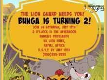 52 Customize Lion King Birthday Invitation Template Free Templates by Lion King Birthday Invitation Template Free