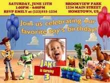 53 Blank Toy Story Birthday Invitation Template Layouts for Toy Story Birthday Invitation Template
