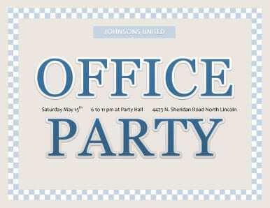 53 Creative Office Party Invitation Template Editable Templates for Office Party Invitation Template Editable