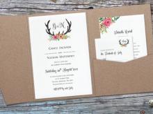 Diy Wedding Invitation Template Free