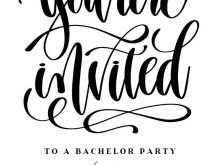 56 Free Printable Bachelor Party Invitation Template Download for Bachelor Party Invitation Template