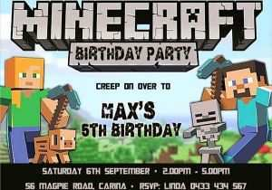 56 How To Create Minecraft Party Invitation Template for Ms Word for Minecraft Party Invitation Template