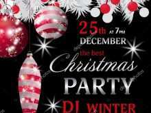 56 Printable Christmas Party Invitation Template Black And White For Free with Christmas Party Invitation Template Black And White