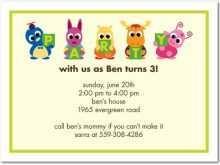 58 Free Children S Birthday Invitation Template Download for Children S Birthday Invitation Template