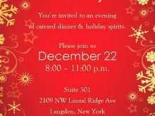 58 Online Christmas Dinner Invitation Template Word Photo for Christmas Dinner Invitation Template Word