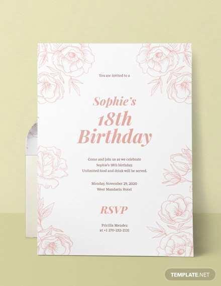 59 Format Birthday Invitation Card Template Word Download by Birthday Invitation Card Template Word