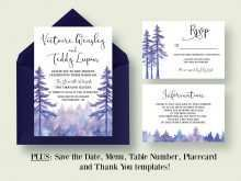 59 Free Printable Enchanted Forest Wedding Invitation Template PSD File with Enchanted Forest Wedding Invitation Template