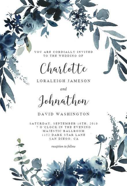 59 Free Wedding Invitation Blank Template Free in Photoshop with Wedding Invitation Blank Template Free