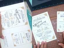 59 Standard Gatsby Wedding Invitation Template Free Now for Gatsby Wedding Invitation Template Free