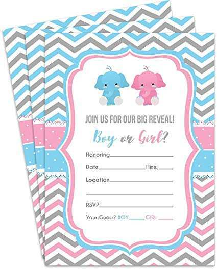 60 Adding Blank Gender Reveal Invitation Template in Photoshop with Blank Gender Reveal Invitation Template