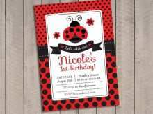 61 Best Blank Ladybug Invitation Template PSD File for Blank Ladybug Invitation Template